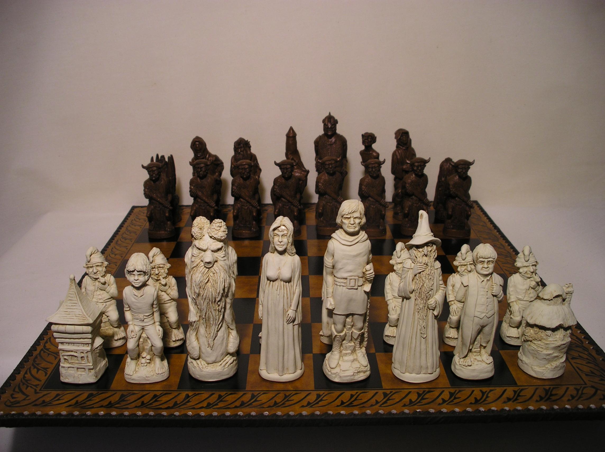Lord Of The Rings Chess Set Mascott Direct Mascott Direct