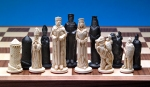CS35 Camelot Chess Set